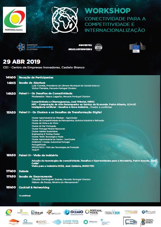 Cluster-Têxtil-Workshop :: Conectividade e Competitividade para a Internacionalização