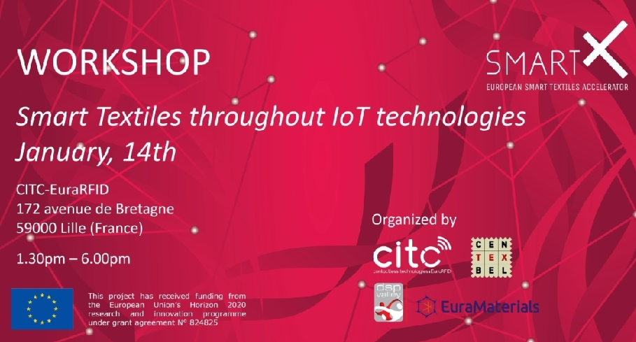 "Cluster-Têxtil-Workshop ""Smart textiles: What opportunities for IoT?"